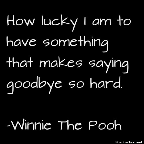 Farewell Thank You Quotes