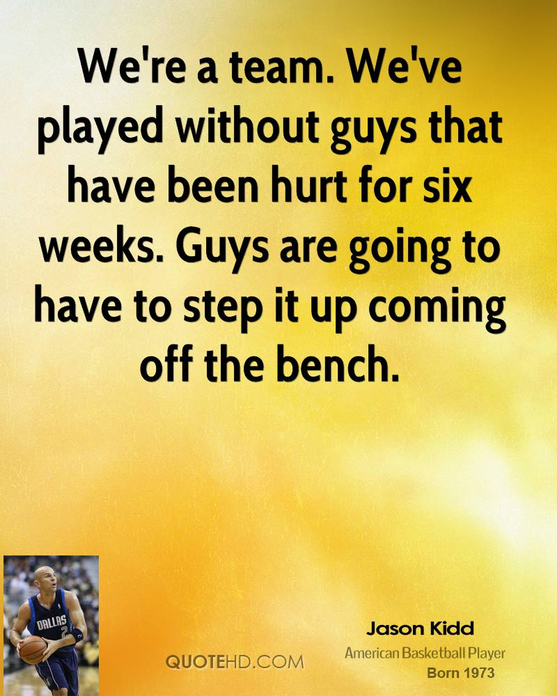 Motivational Quotes For Sports Teams: Bench Players Quotes. QuotesGram