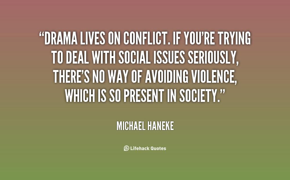 Conflict in successful drama