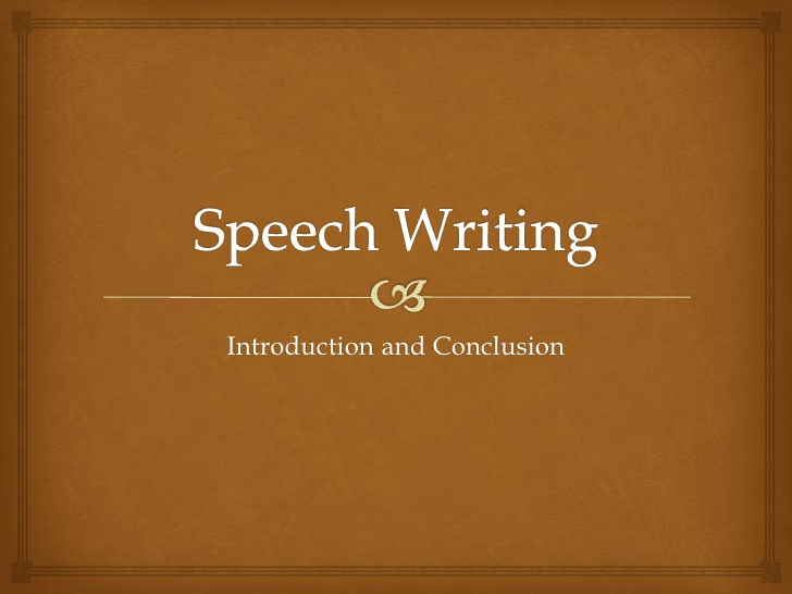 speech in writing How to write a speech: step by step speech writing help, from preparing an outline (the beginning) through to delivery (the end), with examples and checklists.