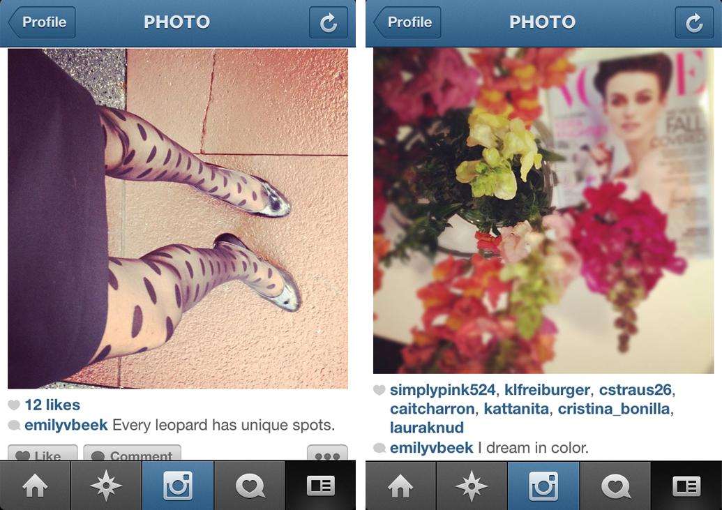 instagram write a caption