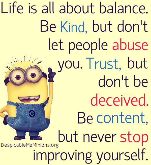 Minion Quotes Inspirational: Minion Quotes About Life. QuotesGram