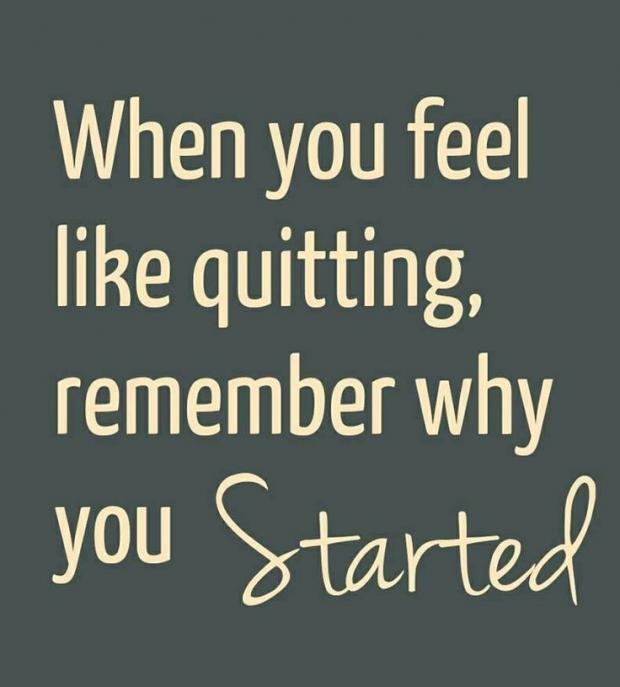 Motivational Inspirational Quotes: Feel Like Quitting Quotes. QuotesGram