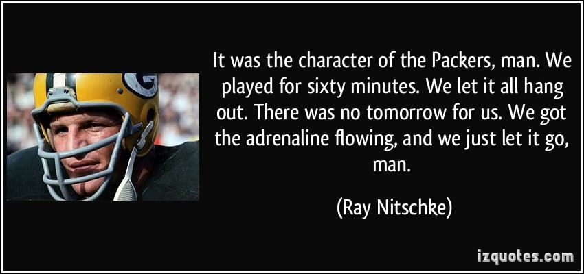 Ray Lewis Quotes About Leadership: Ray Nitschke Quotes. QuotesGram