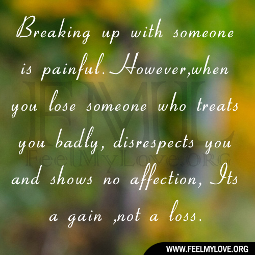 Quotes To Help Someone Get Over A Breakup: Breaking Up With Someone You Love Quotes. QuotesGram