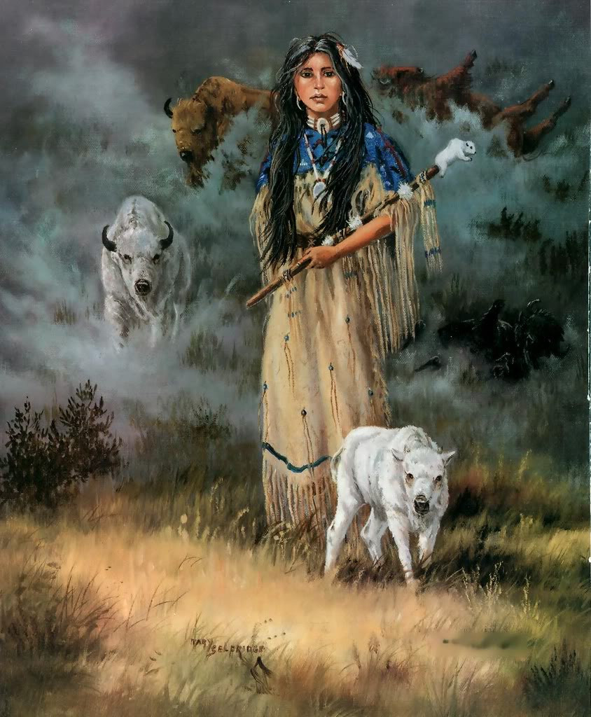 WHITE BUFFALO I (With images) | Buffalo art, Bison art