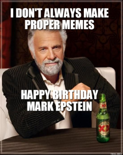 Happy birthday dos equis meme