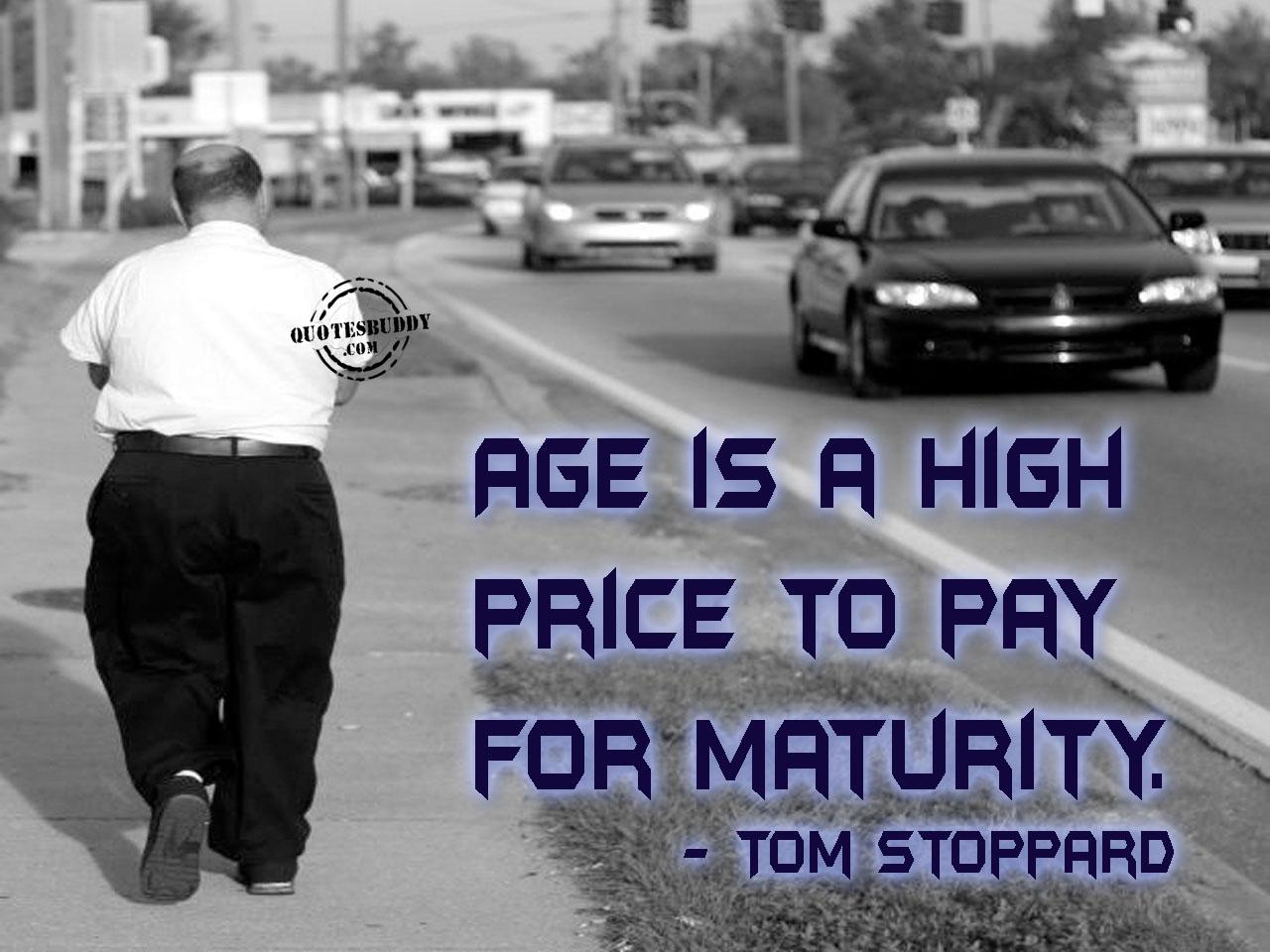 Age And Maturity Quotes Quotesgram: Sarcastic Quotes About Maturity. QuotesGram