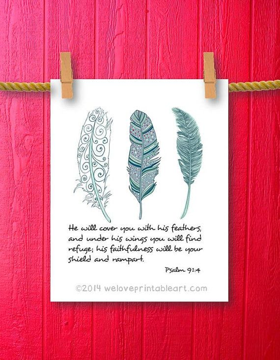 Feather Quotes From Bible Quotesgram
