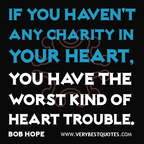 Inspirational Quotes About Positive: Generous Heart Quotes. QuotesGram