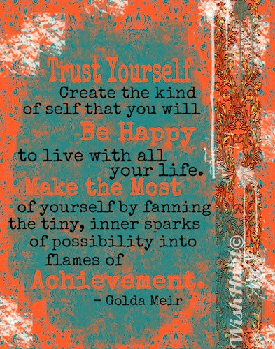 Picture Golda Meir Quote About Trust: Positive Motivational Quotes For Lupus. QuotesGram