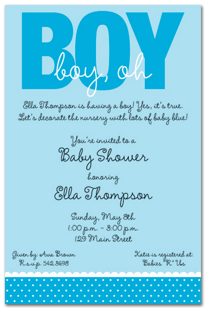 Quotes For Baby Boy Shower Quotesgram