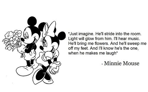 Quotes From Mickey Mouse: Mickey Mouse And Minnie Love Quotes. QuotesGram