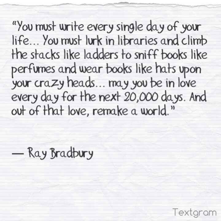 ray bradbury essay on writing Farenheit 451 essays - the cons of technology predicted in fahrenheit 451, by ray bradbury.