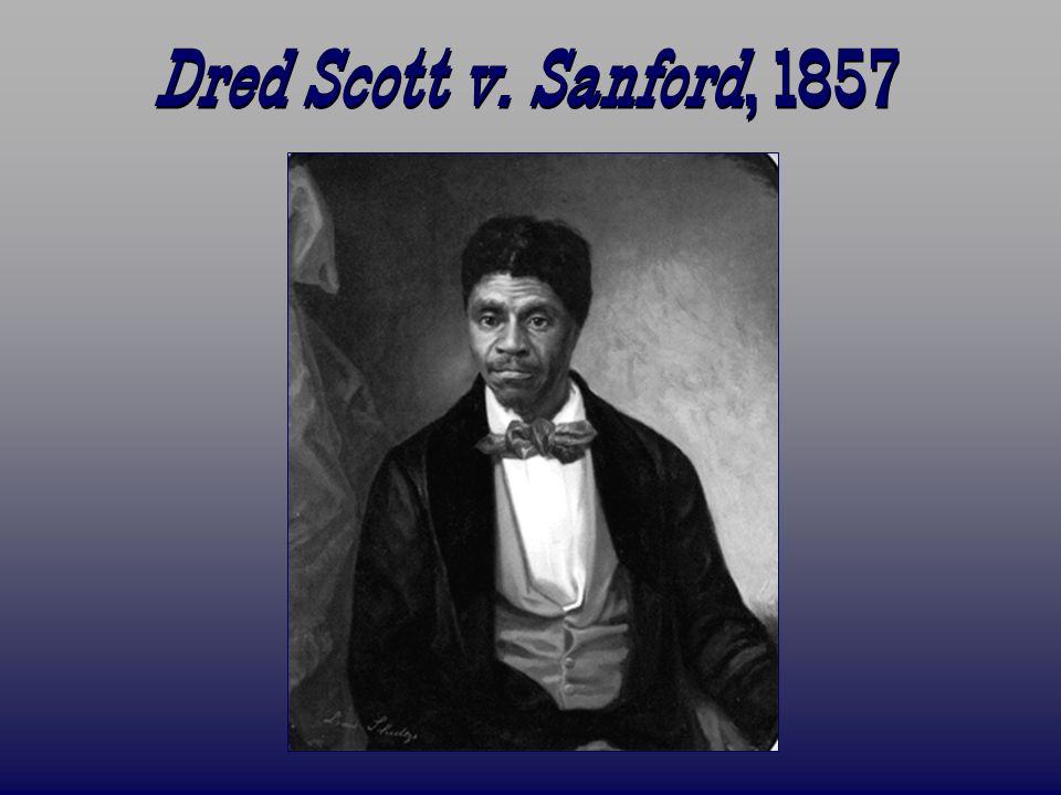 dred scott v. sandford essay Photo essay featured articles dred scott v sandford came before the united states supreme court for the first time and in february 1857 the case was re-argued.