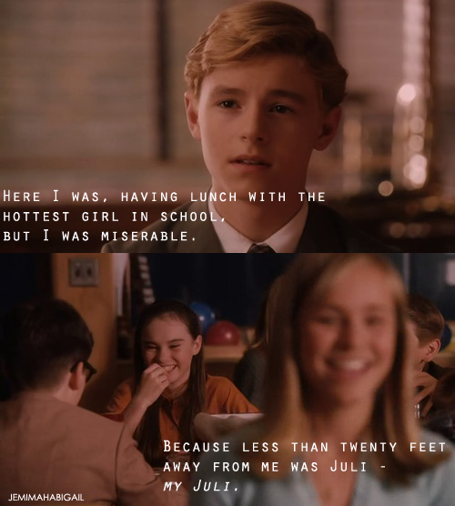 Movie Clip Quotes: Flipped Bryce And Julie Quotes. QuotesGram