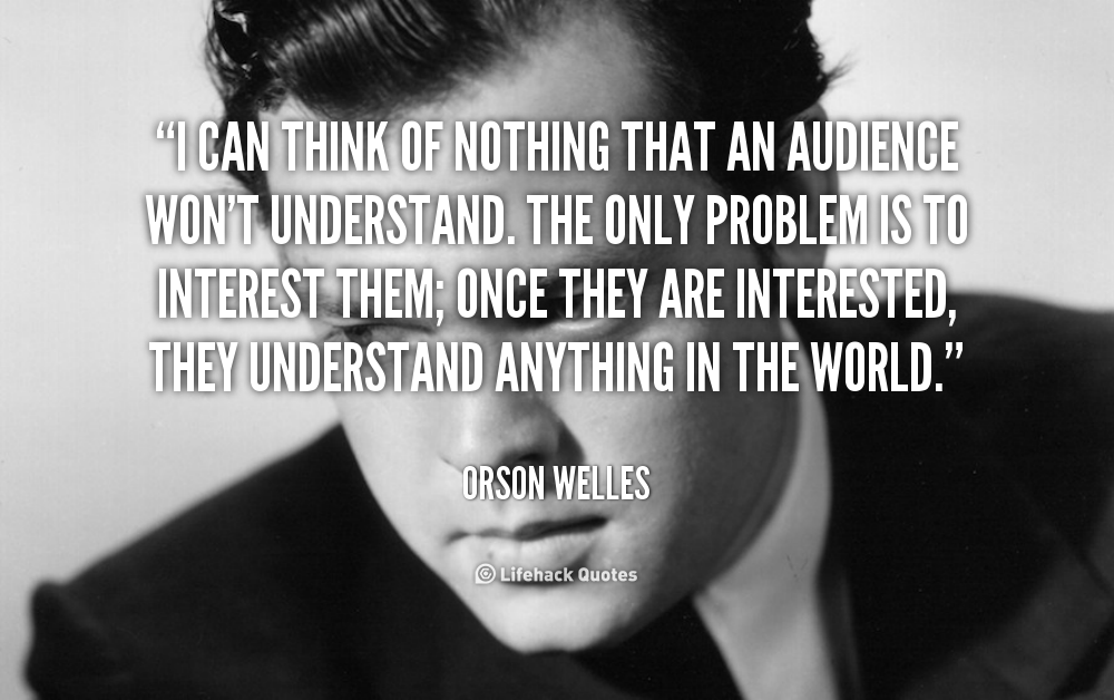 Orson Welles Quotes On Love. QuotesGram