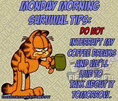 Garfield Monday Quotes. QuotesGram | 236 x 201 jpeg 18kB