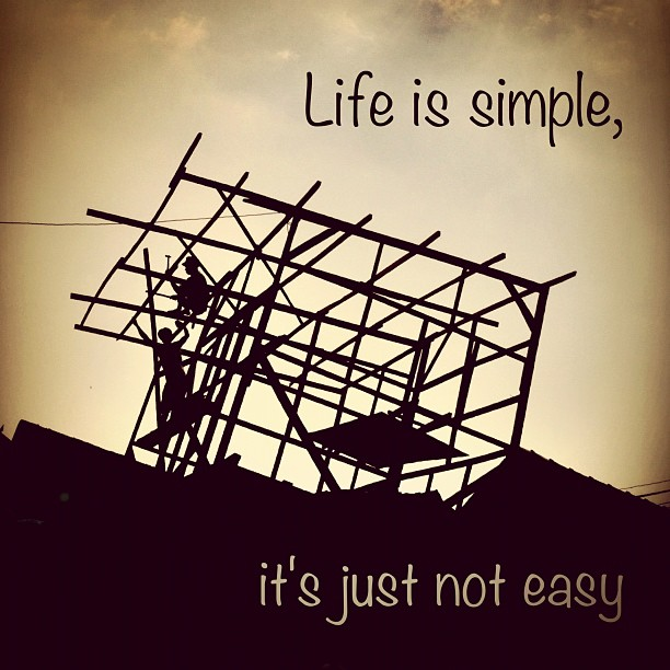 Simple Life Is Not Quotes. QuotesGram