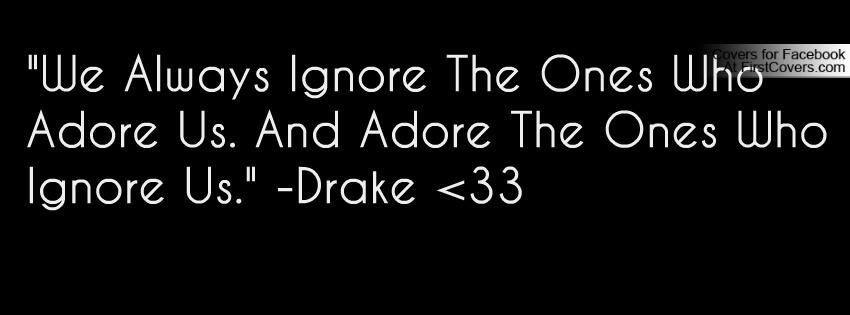 drake love quotes facebook cover quotesgram