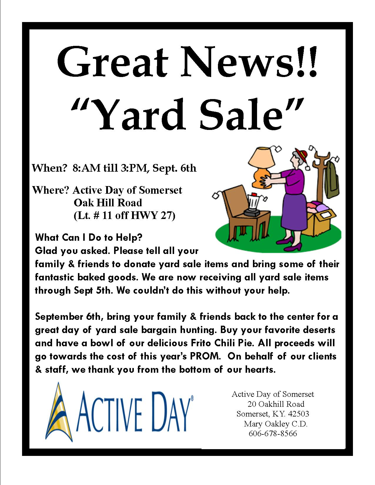 Quotes About Yard Sales Quotesgram