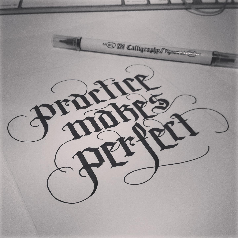 Practice Quotes: Famous Quotes Practice Makes Perfect. QuotesGram
