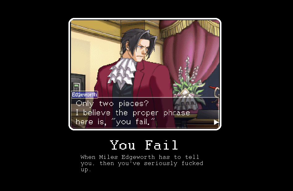 Miles Edgeworth Quotes Quotesgram