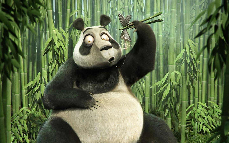 Panda Bamboo Art