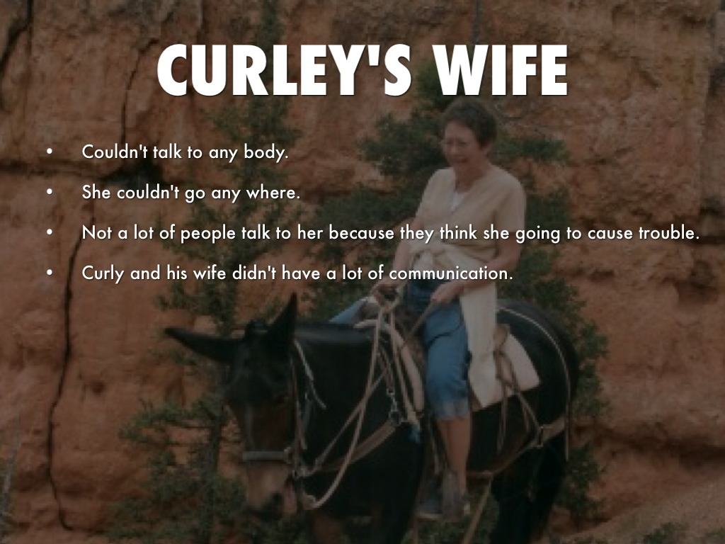 curleys wife of mice and men essay