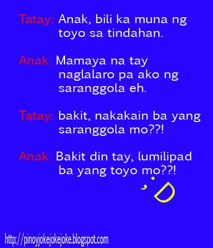 Comedy Quotes Tagalog Version