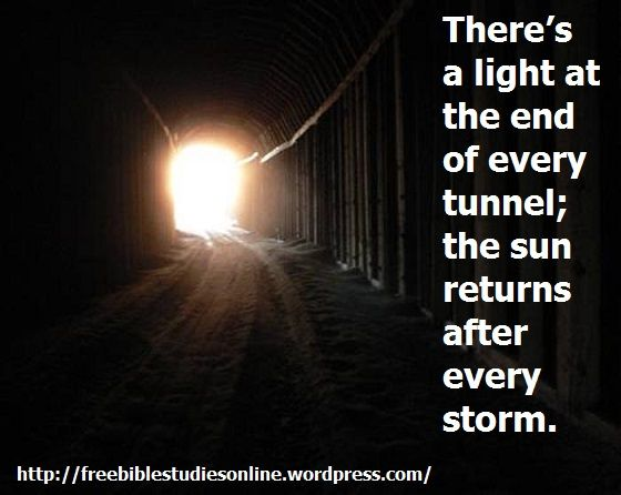 At The End Of A Storm Quote
