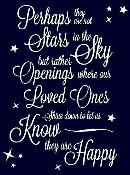 Loved Ones In Heaven Quotes: Quotes About Family In Heaven. QuotesGram
