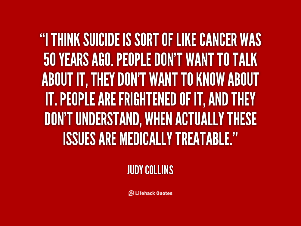 Suicide Quotes: Thinking Of Suicide Quotes. QuotesGram
