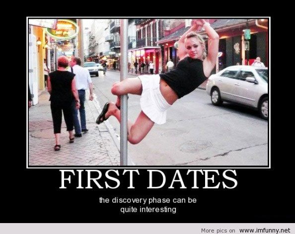 Date to first tell jokes First date