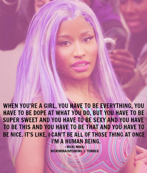Nicki Minaj Song Quotes: Nicki Minaj Best Song Quotes. QuotesGram