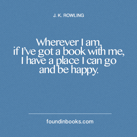 jk rowling quotes about reading quotesgram