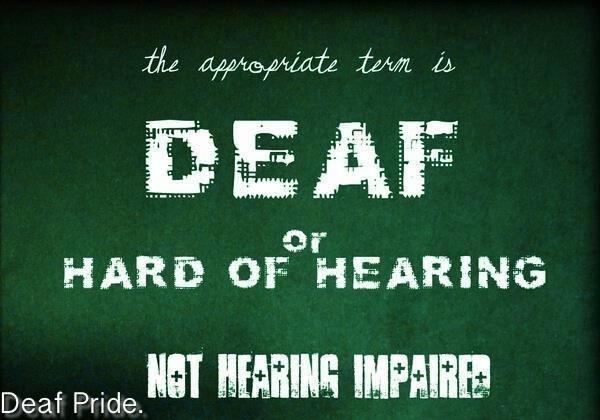 Quotes About Deaf Culture. QuotesGram