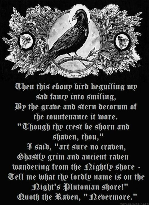 Sayings About Ravens: Raven Poem Quotes. QuotesGram