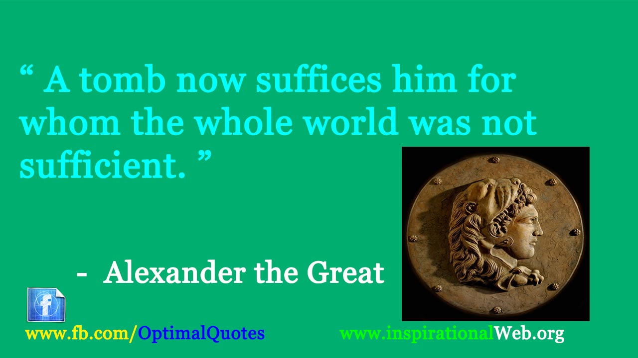 alexander the great quotes on war