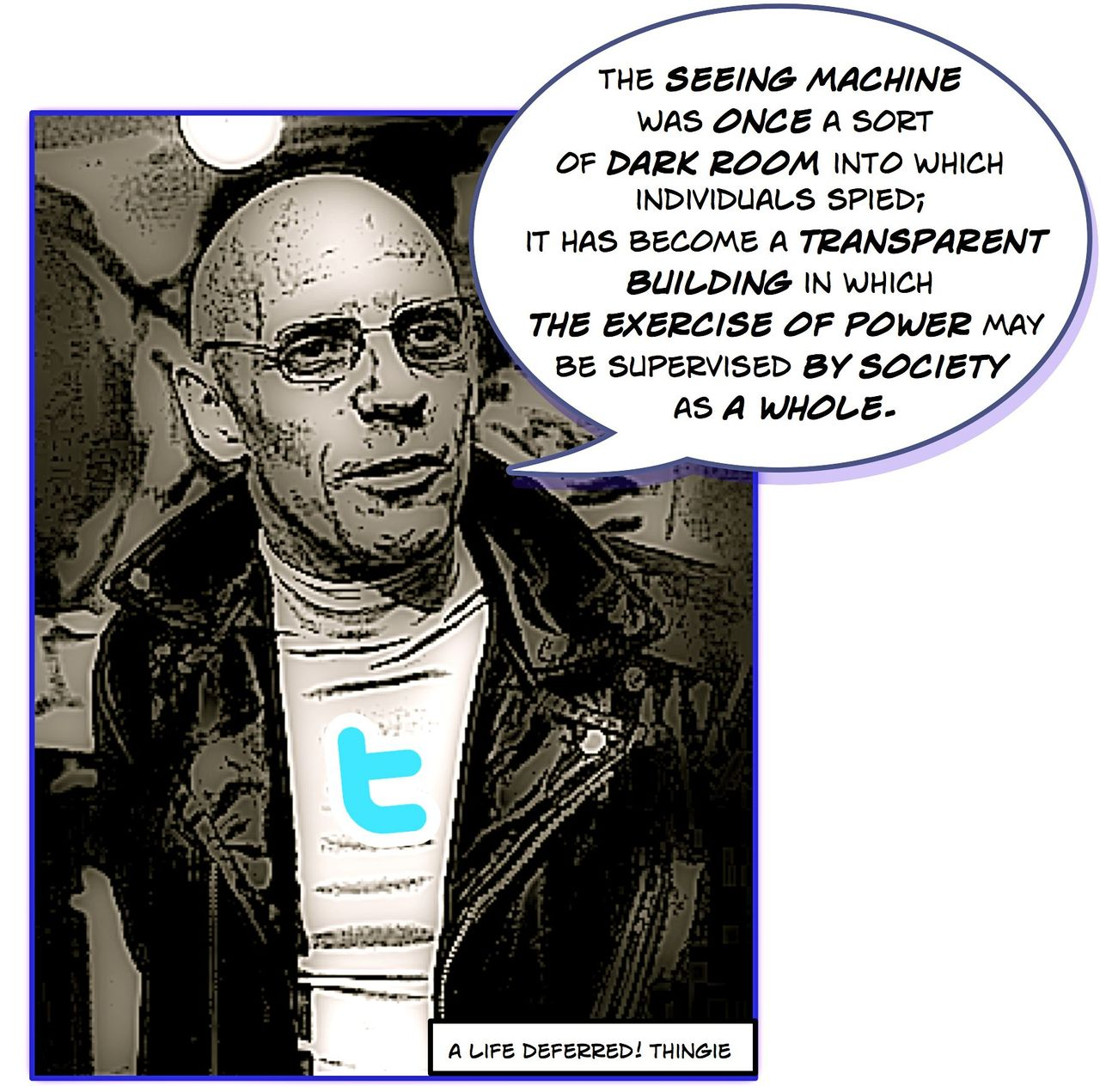 michel foucault Michel foucault was a french philosopher and historian his best known works are discipline and punish and the history of sexuality michel foucault was born on october 15 1926 in poitiers, france .