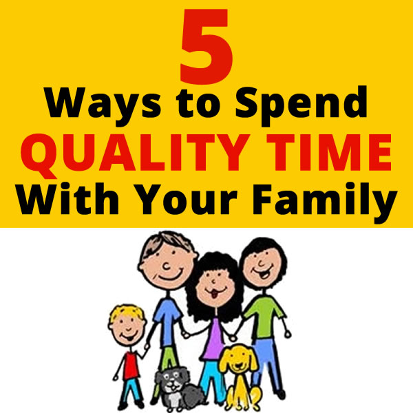 spend time with family essay