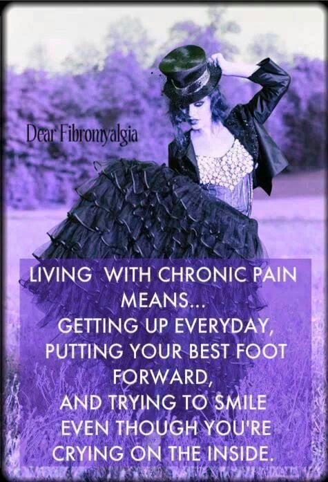 Living With Chronic Pain Quotes Quotesgram