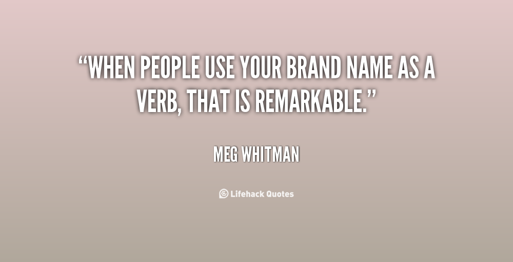 Quotes About Branding. QuotesGram