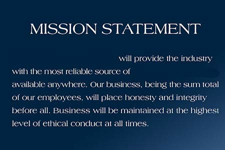 a personal statement is best defined as The sole purpose of a mission statement is to serve as a company's goal/agenda, it outlines clearly what the goal of the company is some generic examples of mission statements would be, to provide the best service.