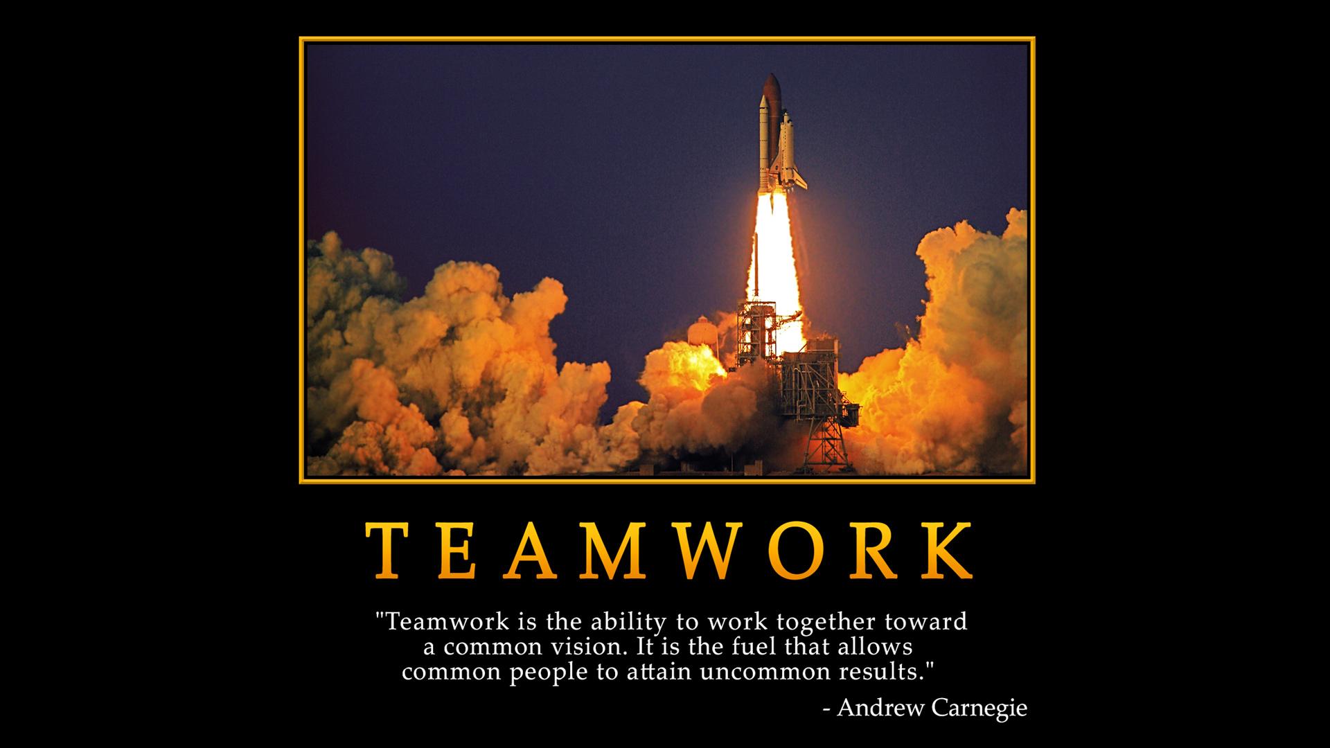 hard work teamwork quotes