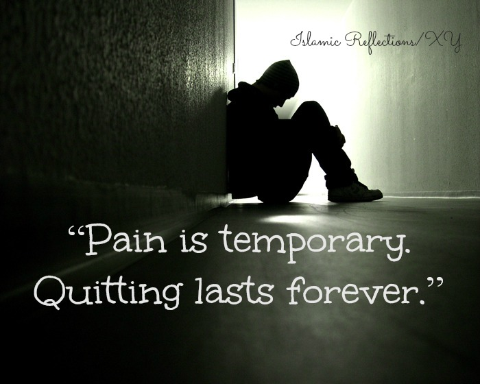 Saying Quotes About Sadness: Pain Is Temporary Quotes. QuotesGram