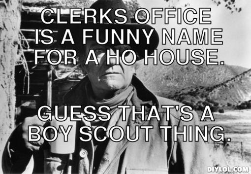 John Wayne Boy Scout Quotes. QuotesGram