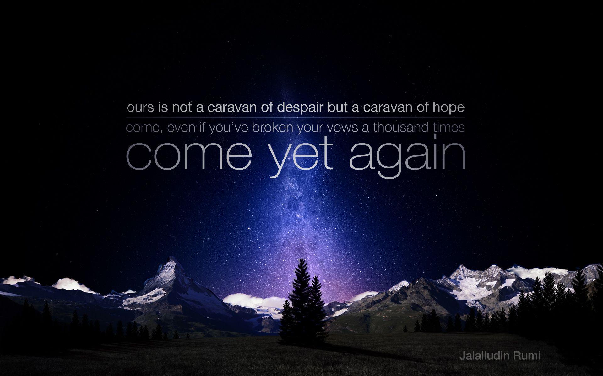 Rumi Quotes: Rumi Quotes On Hope. QuotesGram
