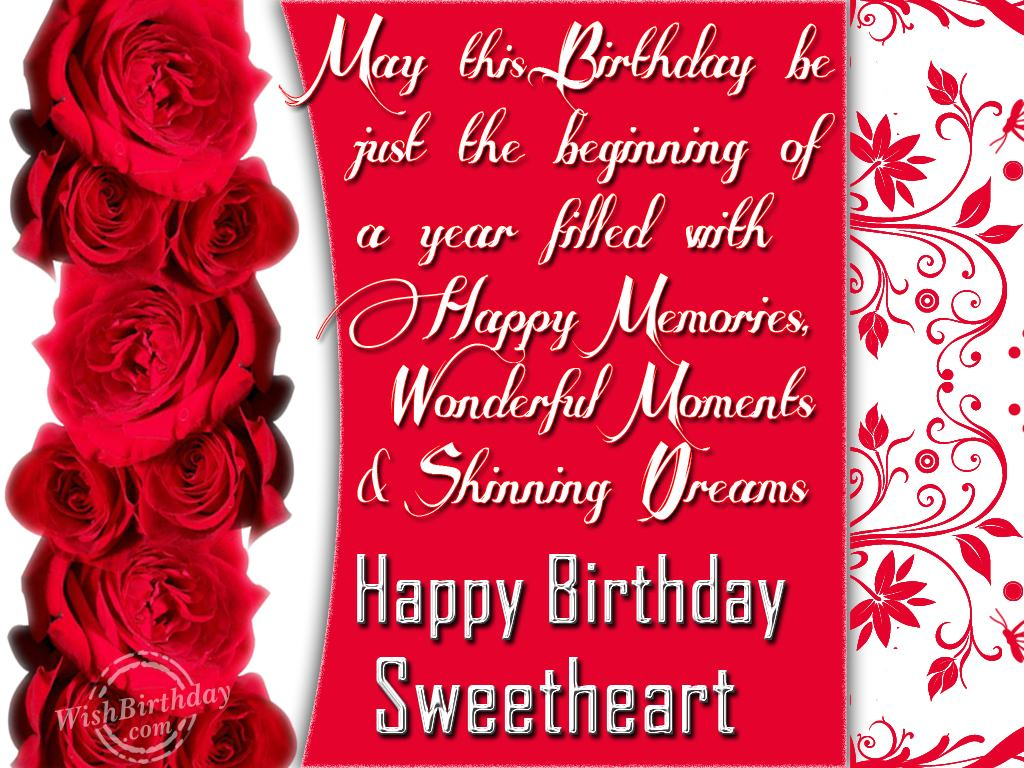 Love quotes for girlfriend birthday quotesgram - Happy birthday my love cards ...