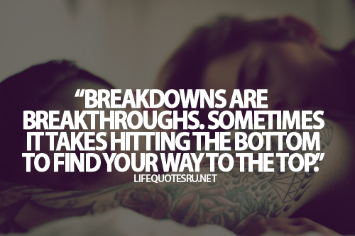 Quotes About Breaking Down Emotionally. QuotesGram